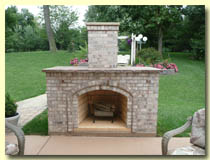 Image of a Fireplace from High Heat Masonry in Troy IL