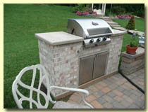 Image of a Gas Grill from High Heat Masonry in Troy IL