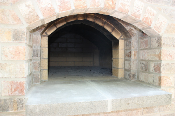 High Heat Masonry in Troy, IL Custom Designed Brick Oven in Illinois